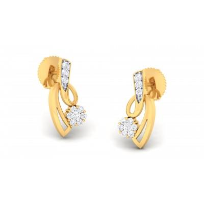 Raidah Diamond Earring