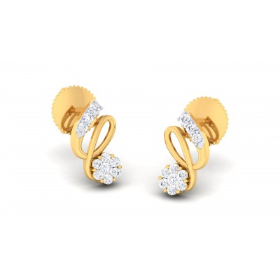 Raiven Diamond Earring