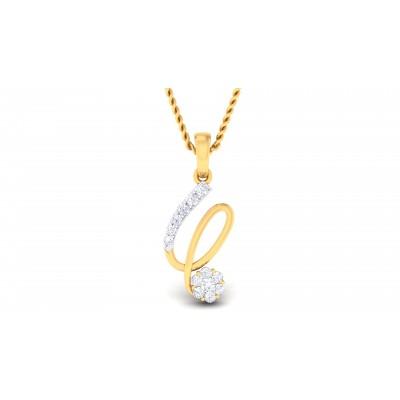 Raiven Diamond Pendant