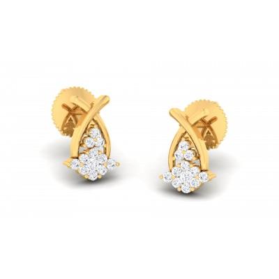 Rajmundy Diamond Earring