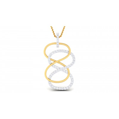 Raphaelle Diamond Pendant