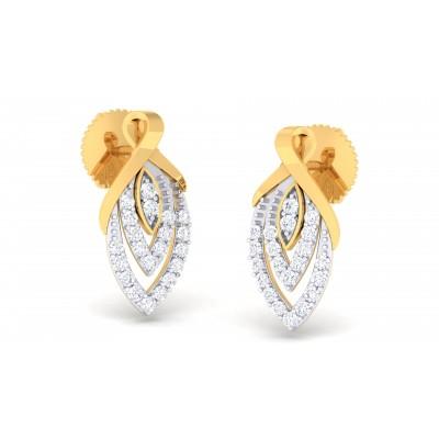 Reggie Diamond Earring