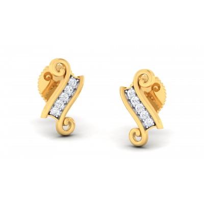 Ragina Diamond Earring