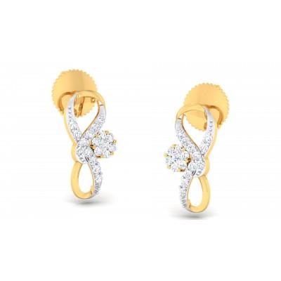Reinhilda Diamond Earring