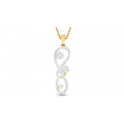 Reinhilda Diamond Pendant