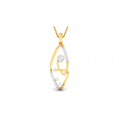 Reita Diamond Pendant