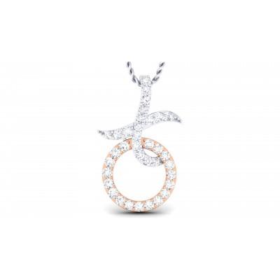 Roundcross Diamond Pendant
