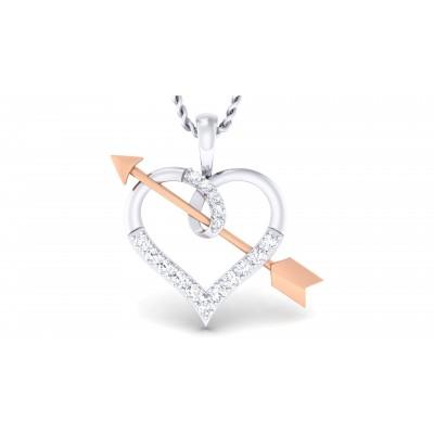 Heartbeat Diamond Pendant