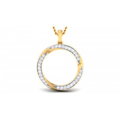 Roundshape Diamond Pendant