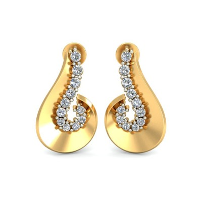 Olivia Diamond Earring