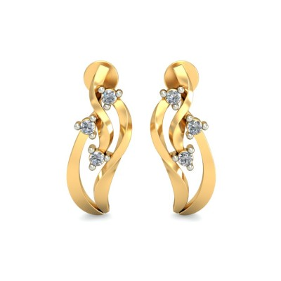Letizia Diamond Earring