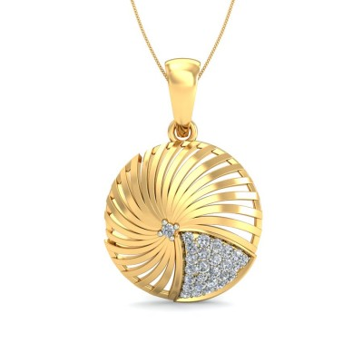 Rocketing Diamond Pendant