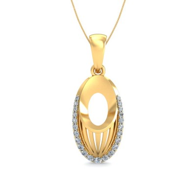 Isa Diamond Pendant