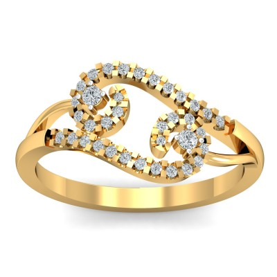 Creek Diamond Ring