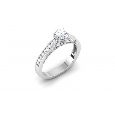 Fidelma Diamond Ring