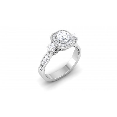 Gemine Diamond Ring