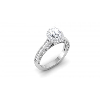 Harlie Diamond Ring