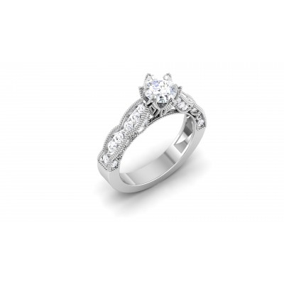 Hafsa Diamond Ring