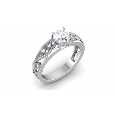 Hadriyt Diamond Ring